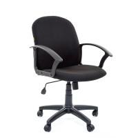 Кресло оператора Chairman 681 PL, ткань черная, механизм качания