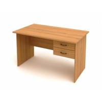 Стол с подвесной тумбой КФ2 (1402х702х750) (СФ02+ТФ09)