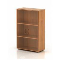 Шкаф низкий со стеклом КФ20 (740х390х1206)