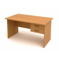Стол с подвесной тумбой КФ3 (1602х702х750) (СФ01+ТФ09)