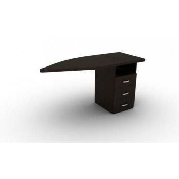 Стол приставной с тумбой ЛП2-П 1400х580х750