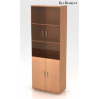 Шкаф высокий со стеклом КФ14 (740х390х2002)