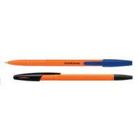 """Ручка шариковая ERICH KRAUSE """"R-301"""" син 0.7/140мм корп оранж"""