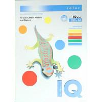 """Бумага цветная А4 IQ COLOR """"Intensive Mix"""" 80г 250л 5цветов*50л"""